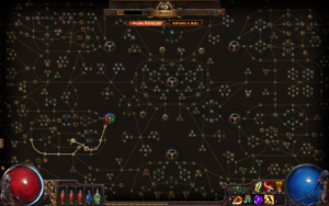 This is actually the skill tree from this game... shocking I know